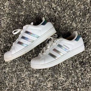 Adidas Superstar Holographic/Metallic